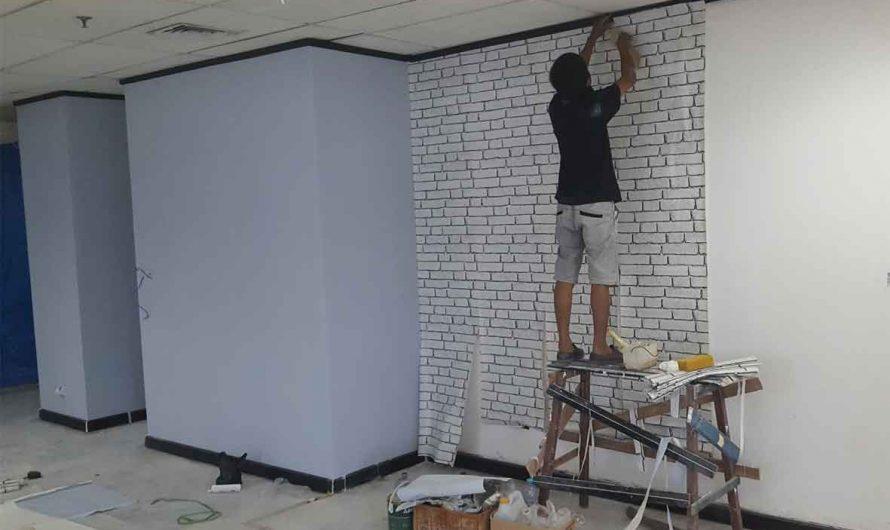 Cara Memasang Wallpaper, Mudah dan Bisa Dikerjakan Sendiri.
